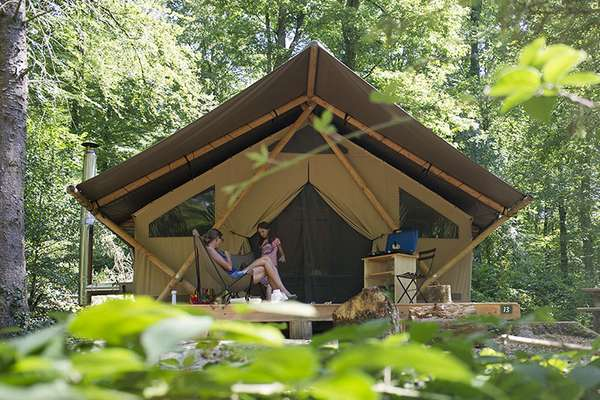 A new form of glamping
