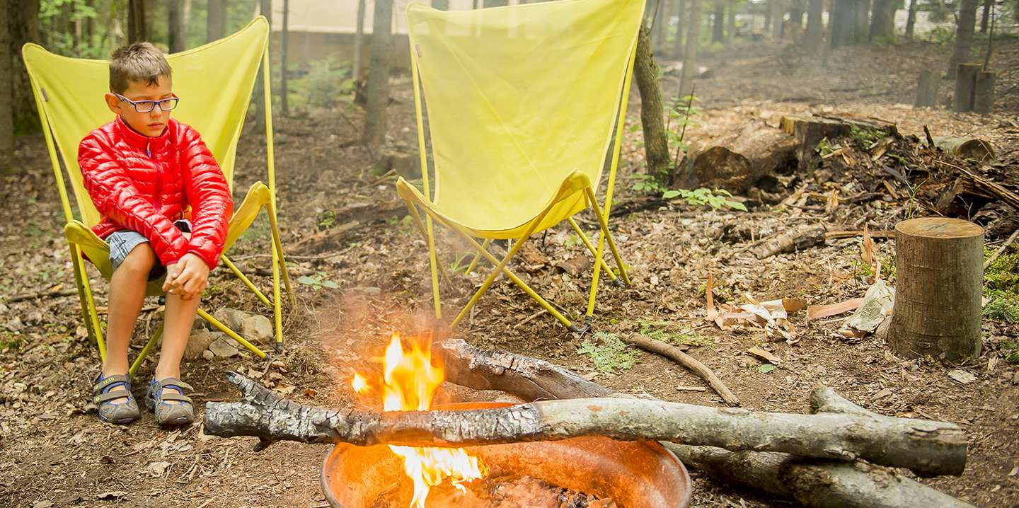 Camping pitch w/electricity