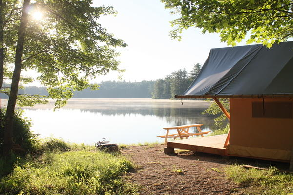 The Trapper's tent