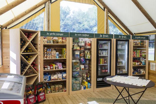 Huttopia Camp Store