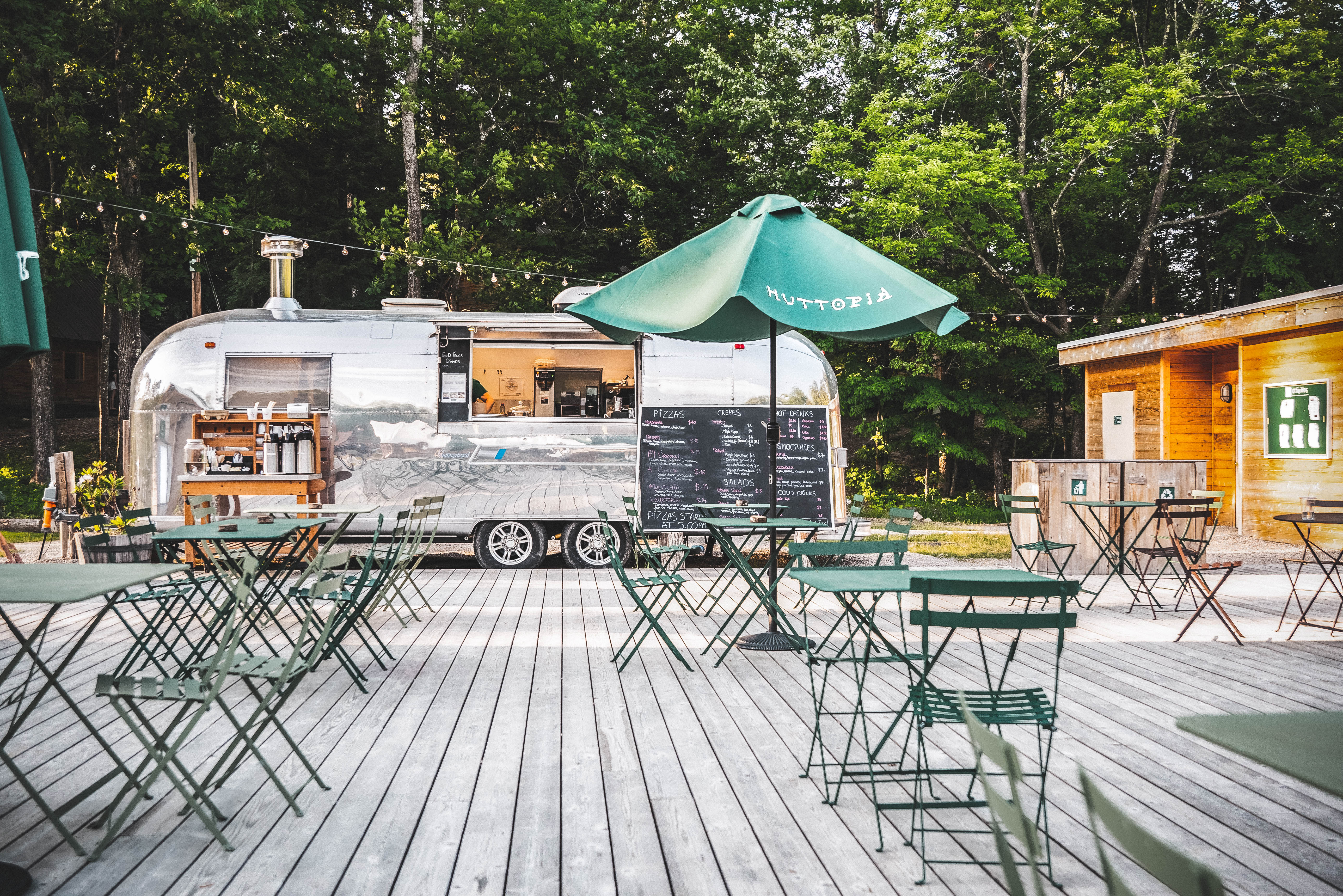 OUR AIRSTREAM FOOD TRUCK
